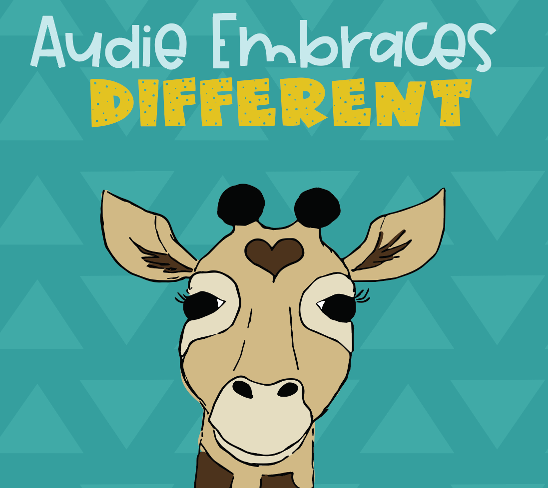 this is an image of Audie, a giraffe